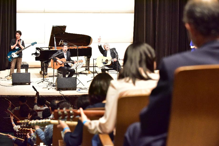 窪田&和泉Duoと大セッション in 埼玉☆浦和ギターカーニヴァル2017